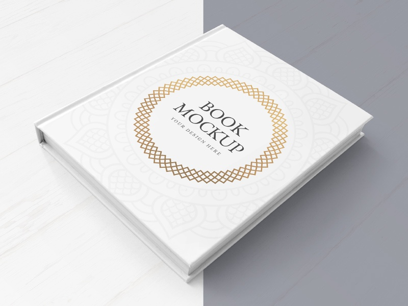Freebie: Hardcover Book Mockup design branding mockup freebie free mockup free freebie mock-up mock up hardcover hardcover book mockup book