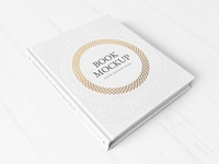 Freebie: Hardcover Book Mockup 2
