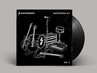 Official Switchfoot Backstage EP Art
