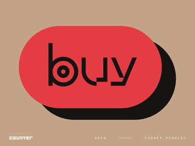Fidget Display – A Modern Mashup geometric stylisticalternative alternative experimental sans serif typography modern displayfont typeface type font