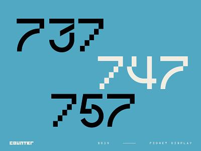 Fidget Display – A Modern Mashup sansserif experimental displayfont modern forsale typeforsale font type art typedesign typeface typography
