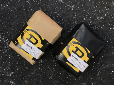 Downtown Credo — Packaging coffee layout packagingdesign packaging