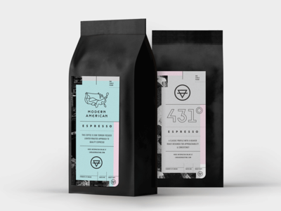 Lineage Coffee Roasters — Packaging brand identity craftcoffee espresso logo bag label coffee packaging branding