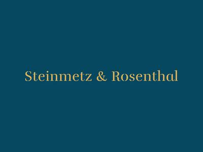 Steinmetz & Rosenthal — Logotype