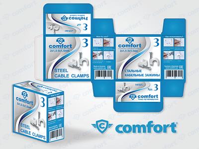 COMFORT_BOX DESIGN logo graphic design branding vector design