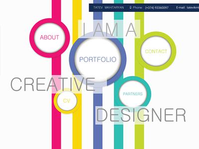 MY OWN WEBSITE/PORTFOLIO animation website web ui ux logo graphic design branding vector design