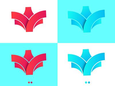 Fox Head Logo Design । Abu Sayed illustration clean art app icon branding vector typography minimal logo flat