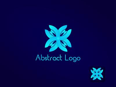 Abstract logo design । Abu Sayed app clean art letter icon branding vector typography minimal logo flat