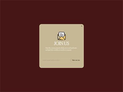 Daily UI 026 subscribe button subscribe minimal flat app vector illustration ui design dailyuichallenge daily ui dailyui