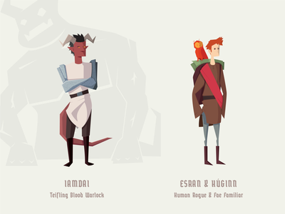 D&D Character Design dungeons and dragons dungeonsanddragons vector illustration vector art vector illustrator illustration drawing characters character design