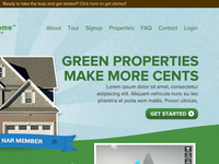 Green Properties Make More Cents