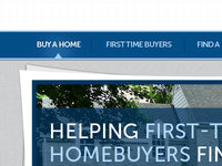 Buy a Home Navigation
