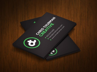 business card - Fancy Business Cards