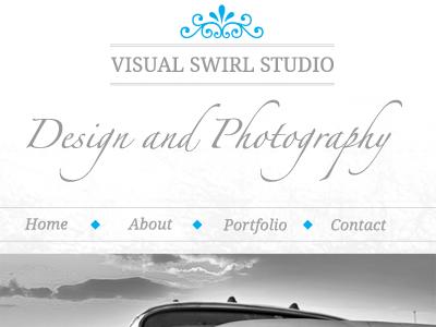 Studio Layout Navigation typography minimal navigation blue tutorial