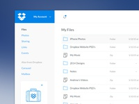 Dropbox Redesign Concept- See Full View