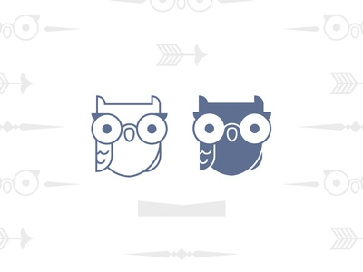 Owl logo mark