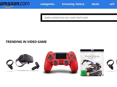 New Amazon design dribbble online store online shop amazing web website design web design webdesign website amazon