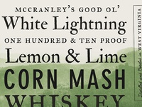 McCranley's Good Ol' White Lightning