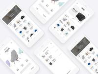 Chair Shopping App