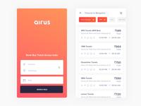 Bus ticket booking app