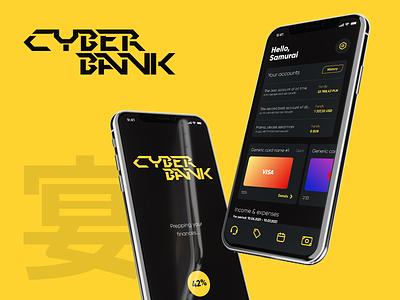 CyberBank - app concept fintech ui design ux