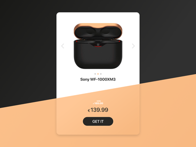 Special Offer - #DailyUI036 web pricing offer specialoffer userinterface ui sony earbuds