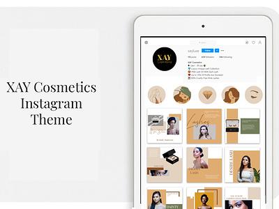 Instagram theme design graphicdesign illustration design post gallery theme social media instagram