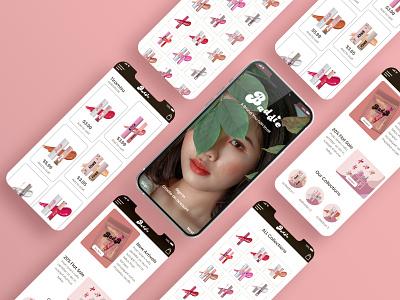 pinksh (ui design) prototype wireframe product illustration design creative ux branding logo graphic design ui