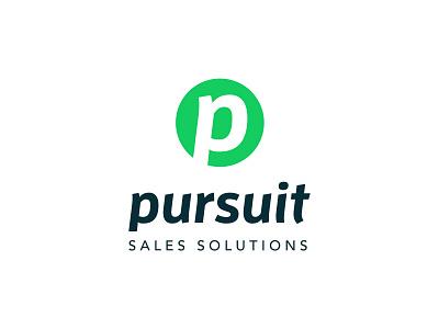 Pursuit Sales Solutions - Branding sales logo brand mark pursuit font type
