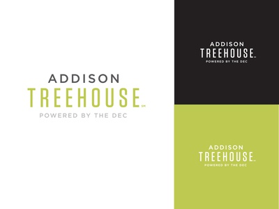Addison Treehouse - Dallas Coworking coworking startup logo text type treehouse texas
