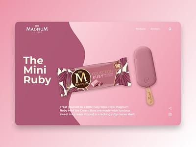 Magnum Ruby UI Design 2.0
