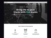 Adam Drums Website