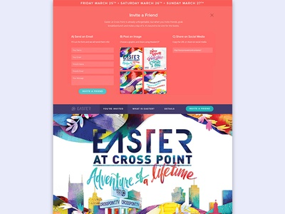 Crosspoint Church Easter Website
