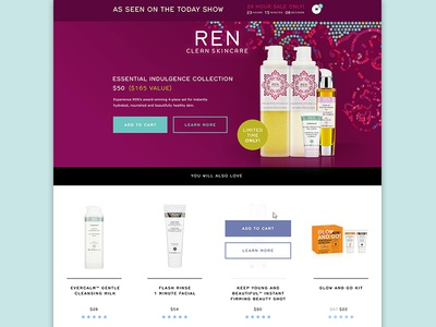 REN Skincare Today Show One-Pager