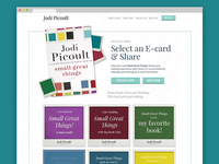 "Jodi Picoult's ""Small Great Things"" promo-site"