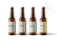 Tailspin Brewing Co. Beer Branding