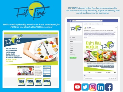 Healthy Food Project social media design calorie foodie sport diet fitness fit healthyfood food healthy branding codeigniter admin panel social media responsive website website design responsive design website webflow webdesign