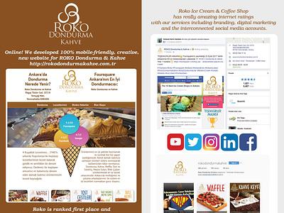 Roko Project social shop instagram desert food ice cream cone ice ice cream shop ice cream icecream web social media branding design responsive website responsive design website design webflow website webdesign