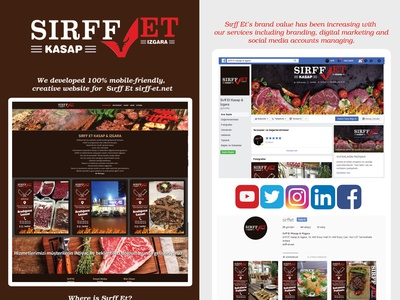 Steakhouse Project butcher steak house website builder website concept websites web design web social media branding responsive website responsive design meat food food website steak steakhouse website website design webflow webdesign