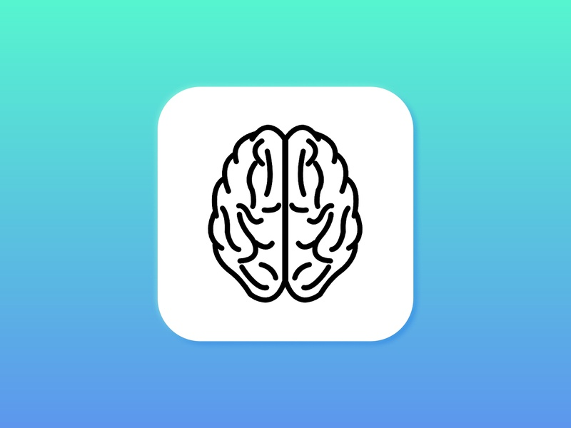 005 App Icon icon app brain 005 dailyui