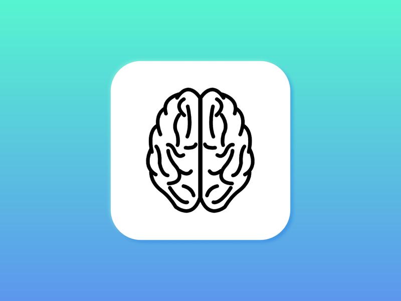 005 App Icon icon app brain 005 dailyui