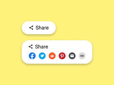 010 Social Share share social 010 dailyui