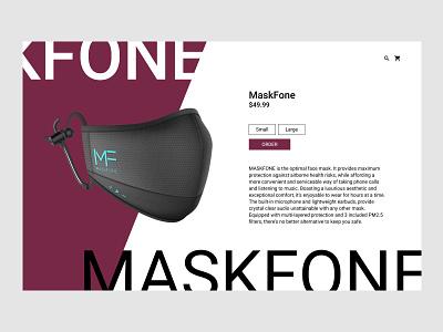 012 E-Commerce Shop mask shop ecommerce 012 dailyui