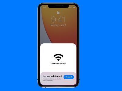 016 Pop-Up / Overlay wifi overlay popup 016 dailyui