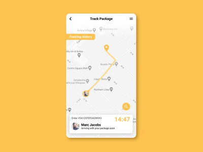 020 Location Tracker tracker location 020 dailyui020