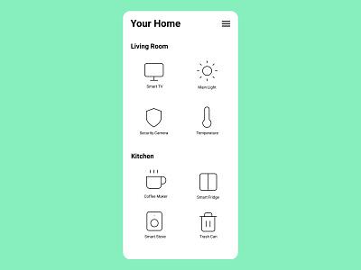 021 Monitoring Dashboard home smart dashboard 021 dailyui