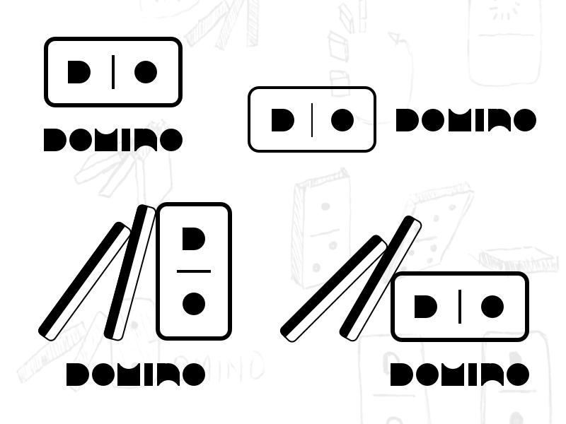 Domino Logo Concepts logo dominos
