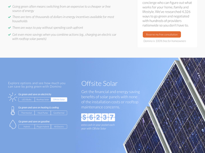 Energy Savings Calculator lato ui icons background solar