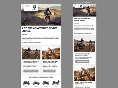 BMW FS Email Templates mac iphone html email bmw