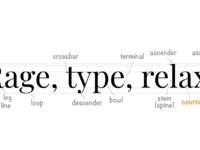 Graphic tactics anatomy of type